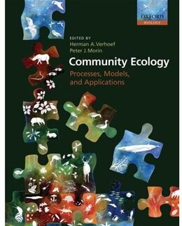 Book Community Ecology: Processes, Models, and Applications by Herman A. Verhoef