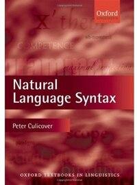 Natural Language Syntax