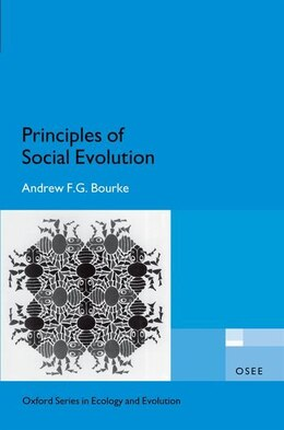 Book Principles of Social Evolution by Andrew F.G. Bourke
