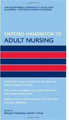 Book Oxford Handbook of Adult Nursing by George Castledine