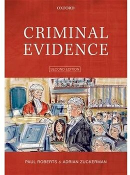 Book Criminal Evidence by Paul Roberts