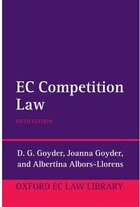 Goyders EC Competition Law