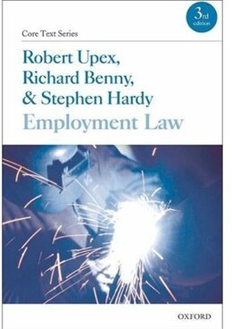Book Employment Law by Robert Upex