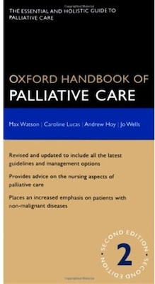 Book Oxford Handbook of Palliative Care by Max Watson