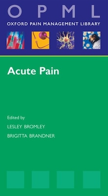 Book Acute Pain by Lesley Bromley