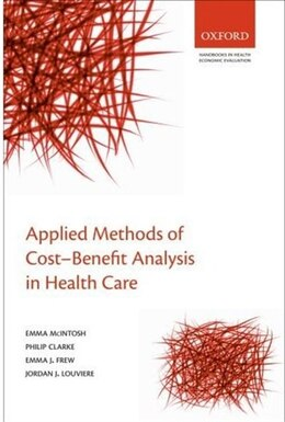 Book Applied Methods of Cost-benefit Analysis in Health Care by Emma McIntosh