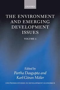 Book The Environment and Emerging Development Issues: Volume 1 by Karl-Goran Maler