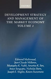 Book Development Strategy and Management of the Market Economy: Volume 1 by Edmond Malinvaud