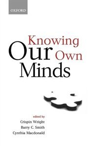 Book Knowing Our Own Minds by Crispin Wright