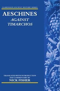 Book Aeschines: Against Timarchos by Nick Fisher