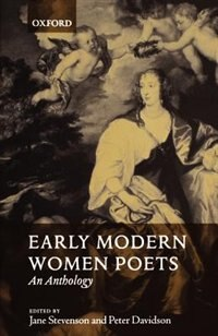 Book Early Modern Women Poets: An Anthology by Jane Stevenson