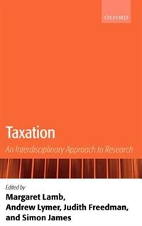 Book Taxation: An Interdisciplinary Approach to Research by Margaret Lamb