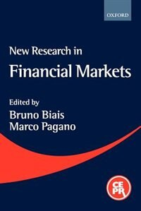 Book New Research in Financial Markets: A Reader by Bruno Biais