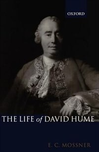 Book The Life of David Hume by Ernest C. Mossner
