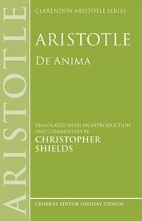 Book Aristotle: De Anima by Oxford