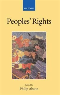 Book Peoples Rights by Philip Alston