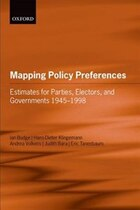 Mapping Policy Preferences: Estimates for Parties, Electors, and Governments 1945-1998