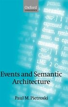 Events and Semantic Architecture