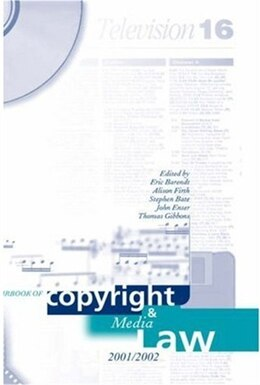 Book Yearbook of Copyright and Media Law, Volume VI 2001-02 by Thomas Gibbons
