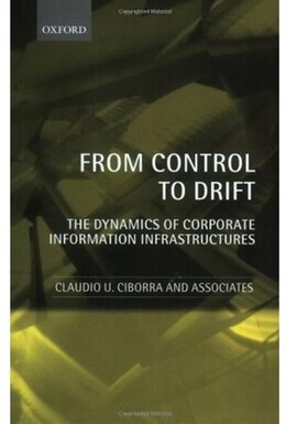 Book From Control to Drift: The Dynamics of Corporate Information Infrastructures by Claudio U. Ciborra