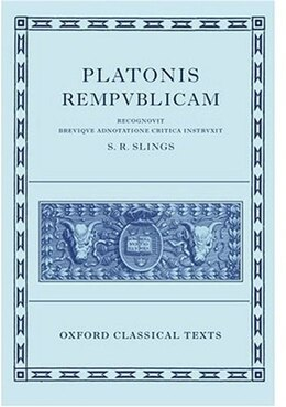 Book Plato Respublica by S. R. Slings