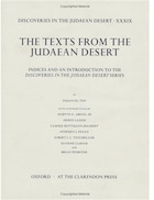 Discoveries in the Judaean Desert volume XXXIX: Indices and an Introduction to the Discoveries in…