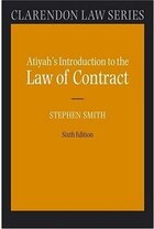 Atiyahs Introduction to the Law of Contract