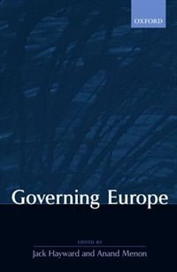 Book Governing Europe by Jack Hayward