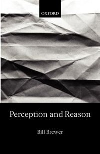Book Perception and Reason by Bill Brewer