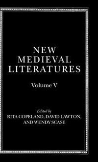 Book New Medieval Literatures: Volume V by Rita Copeland