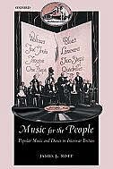 Book Music for the People: Popular Music and Dance in Interwar Britain by James J. Nott