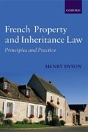 Book French Property and Inheritance Law: Principles and Practice by Henry Dyson
