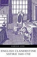 English Clandestine Satire, 1660-1702