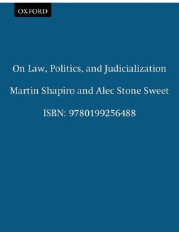 Book On Law, Politics, and Judicialization by Martin Shapiro