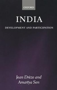 Book India: Development and Participation by Jean Dreze