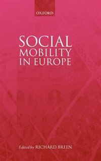 Book Social Mobility in Europe by Richard Breen