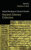Ancient Literary Criticism by Andrew Laird