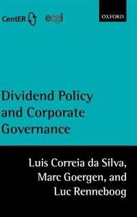 Book Dividend Policy and Corporate Governance by Luis Correia da Silva
