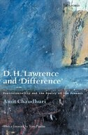 Book D. H. Lawrence and Difference: Postcoloniality and the Poetry of the Present by Amit Chaudhuri