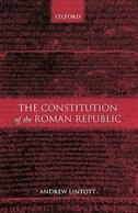 Book The Constitution of the Roman Republic by Andrew Lintott