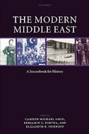 Book The Modern Middle East: A Sourcebook for History by Camron Michael Amin