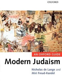 Book Modern Judaism: An Oxford Guide by Nicholas de Lange