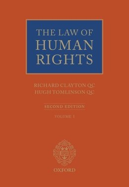 Book The Law of Human Rights by Richard Clayton