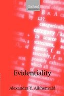 Book Evidentiality by Alexandra Y. Aikhenvald