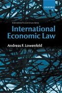 Book International Economic Law by Andreas F. Lowenfeld