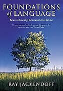 Book Foundations of Language: Brain, Meaning, Grammar, Evolution by Ray Jackendoff