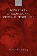 Book Towards an International Criminal Procedure by Christoph Safferling