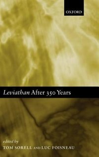 Book Leviathan after 350 Years by Tom Sorell