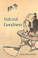 Book Natural Goodness by Philippa Foot