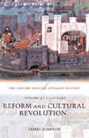 Book The Oxford English Literary History: Volume 2: 1350-1547: Reform and Cultural Revolution: Volume 2… by James Simpson